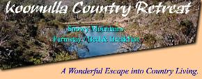 Koomulla Country Retreat - ACT Tourism