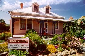 Hanlon House - ACT Tourism
