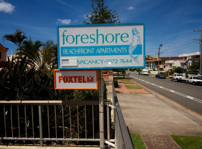 Foreshore Apartments Mermaid Beach - ACT Tourism