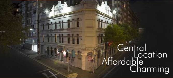 Woolbrokers Hotel - ACT Tourism