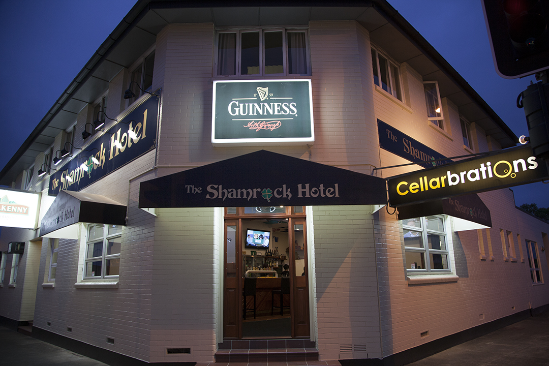 Shamrock Hotel - ACT Tourism