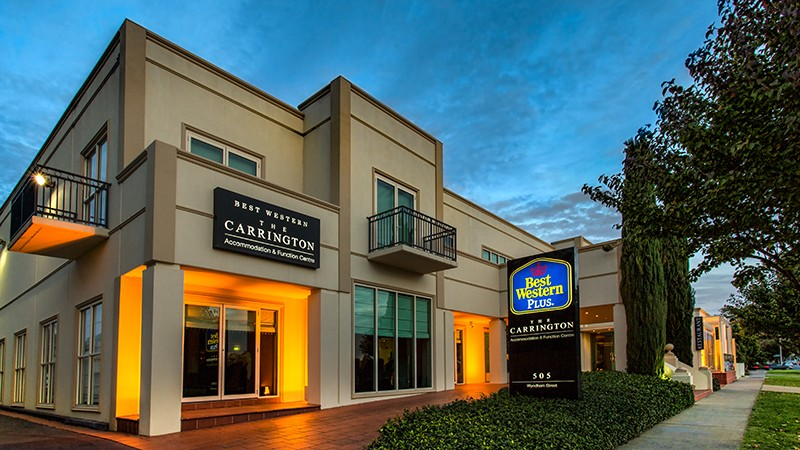 BEST WESTERN PLUS The Carrington - ACT Tourism