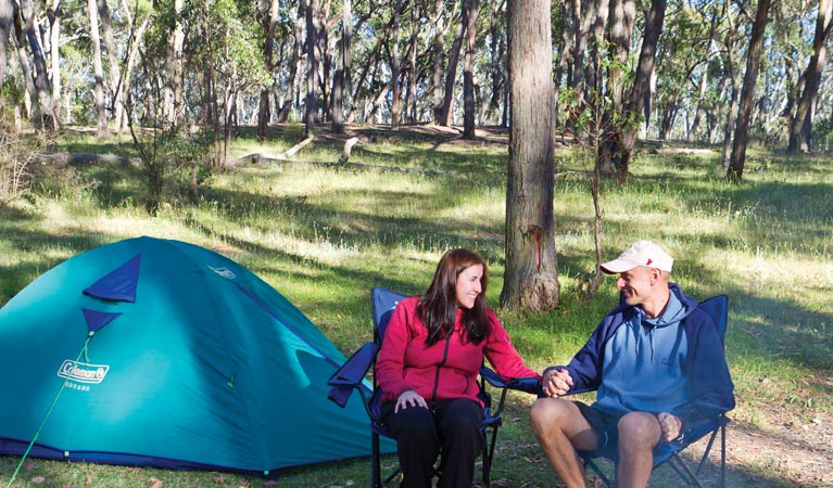 Apsley Falls campground - ACT Tourism