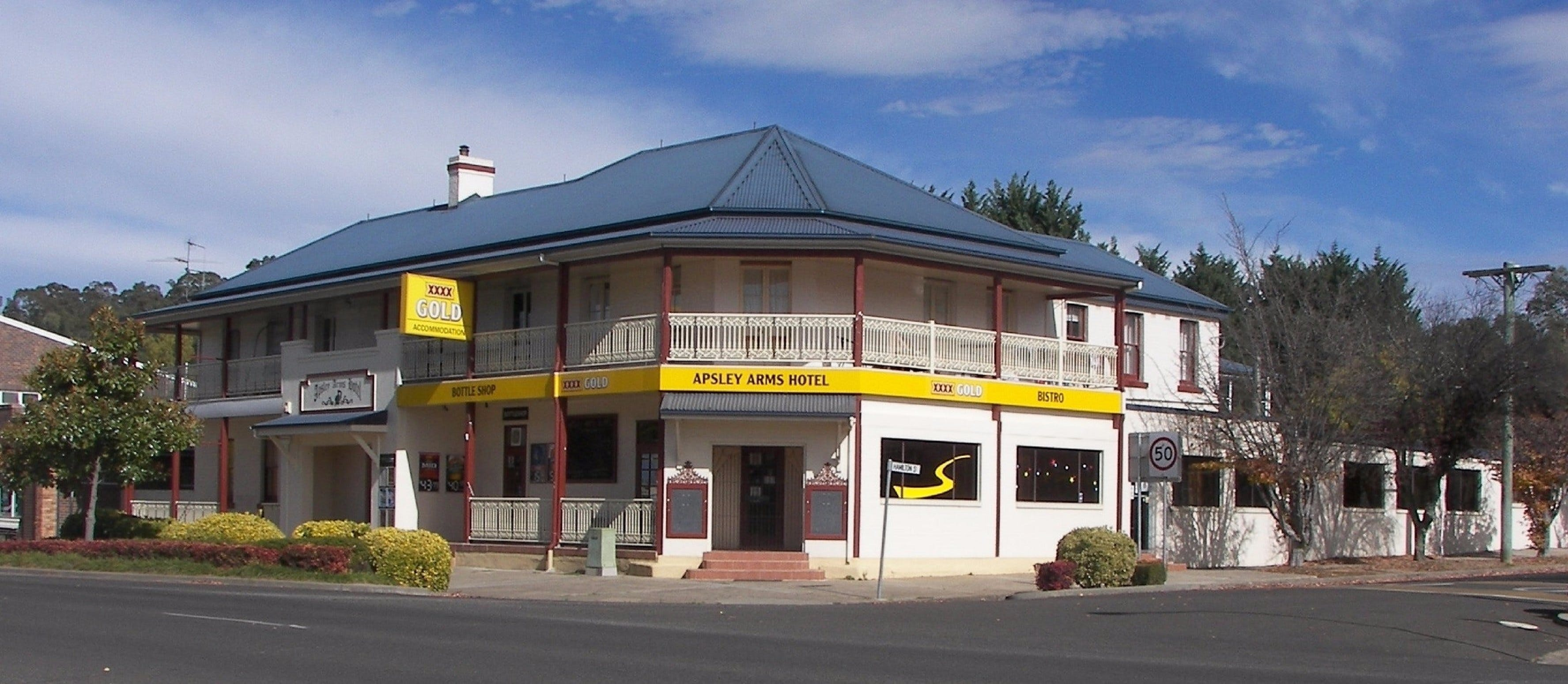 Apsley Arms Hotel - ACT Tourism