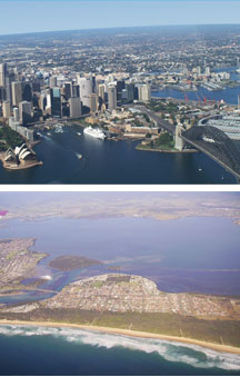Sydney By Air - ACT Tourism
