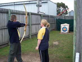 Bairnsdale Archery Mini Golf  Games Park - ACT Tourism