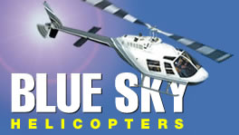 Blue Sky Helicopters - ACT Tourism