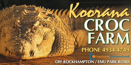 Koorana Saltwater Crocodile Farm - ACT Tourism