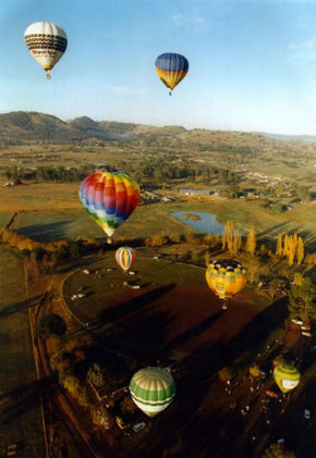 Global Ballooning Australia - ACT Tourism