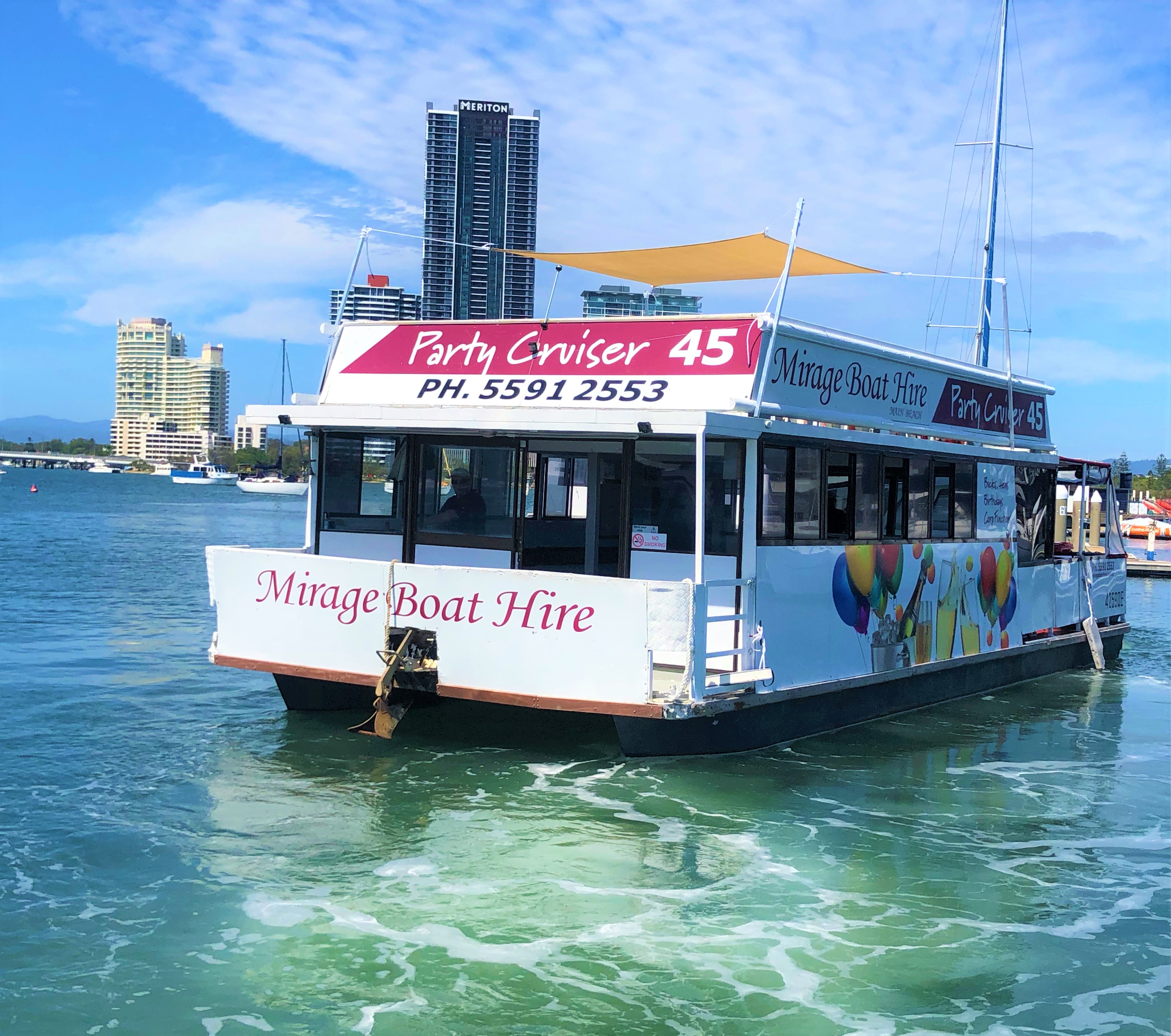 Mirage Boat Hire - ACT Tourism
