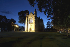 Chapel of St Mary and St George - ACT Tourism