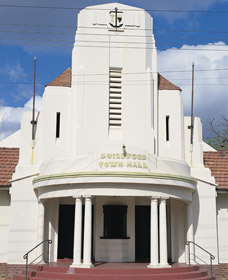 Guildford Town Hall - ACT Tourism