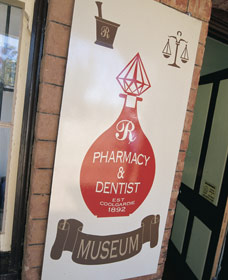 Pharmacy Museum - ACT Tourism