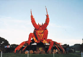 The Big Lobster - ACT Tourism
