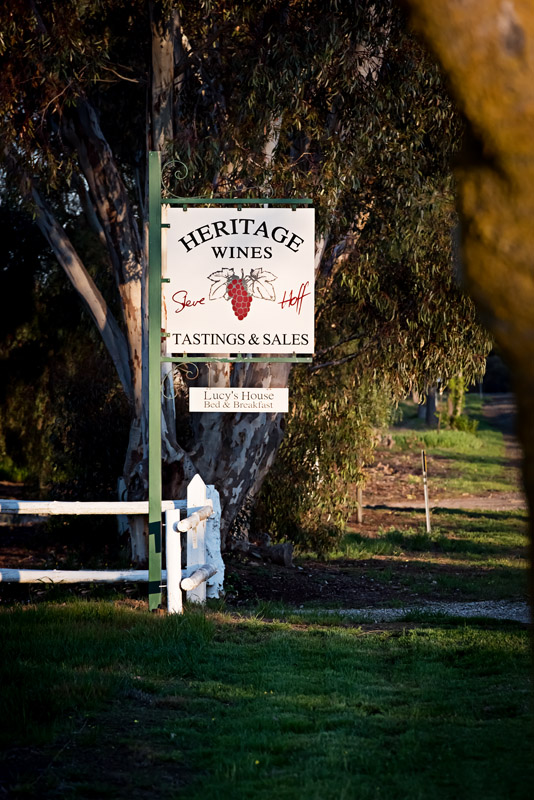 Heritage Wines - ACT Tourism