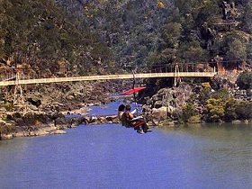Launceston Cataract Gorge  Gorge Scenic Chairlift - ACT Tourism