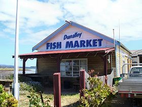 Dunalley Fish Market - ACT Tourism