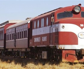 Old Ghan Heritage Railway and Museum - ACT Tourism