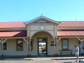 Maryborough Railway Station - ACT Tourism