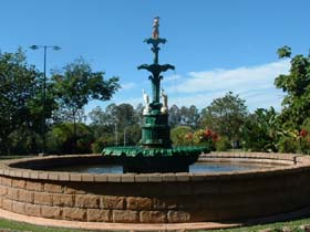 Band Rotunda and Fairy Fountain - ACT Tourism