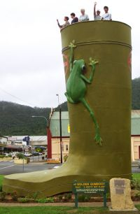 Golden Gumboot - ACT Tourism