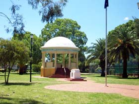 Kingaroy Memorial Park - ACT Tourism