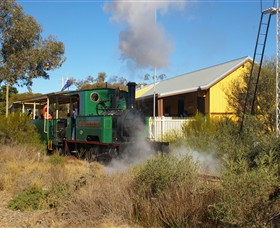 Red Cliffs Historical Steam Railway - ACT Tourism