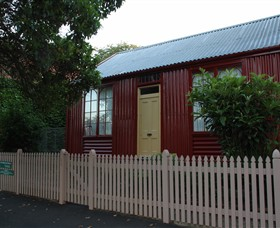 19th Century Portable Iron Houses - ACT Tourism