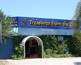 Treasures from the Deep - Opal and Shell Museum - ACT Tourism