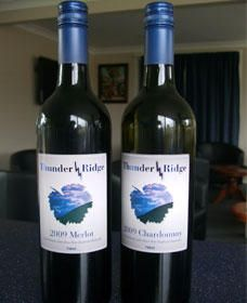 Thunder Ridge Wines - ACT Tourism