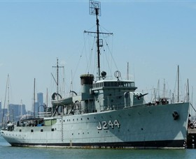 HMAS Castlemaine Museum Ship - ACT Tourism