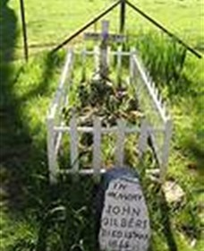 Johnny Gilberts Grave - ACT Tourism