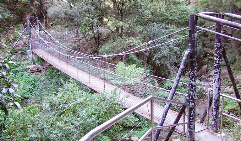 Jenolan River walking track - ACT Tourism
