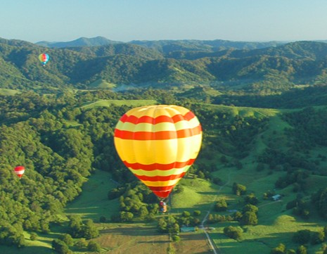 Byron Bay Ballooning - ACT Tourism