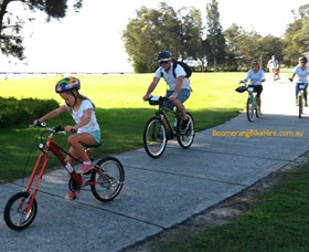 Boomerang Bikes Central Coast Bike Tours - ACT Tourism