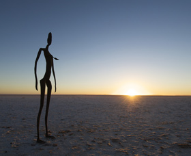 Inside Australia - Antony Gormley Sculptures