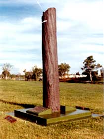 The Flood Memorial or The Stump