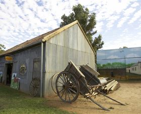 The Ned Kelly Blacksmith Shop - ACT Tourism