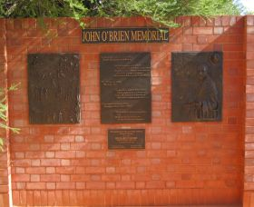 John OBrien Commemorative Wall - ACT Tourism