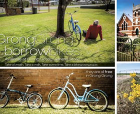 Grong Grong Borrow Bikes - ACT Tourism