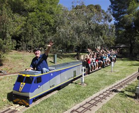Willans Hill Miniature Railway - ACT Tourism