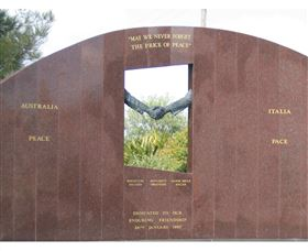 Cowra Italy Friendship Monument - ACT Tourism