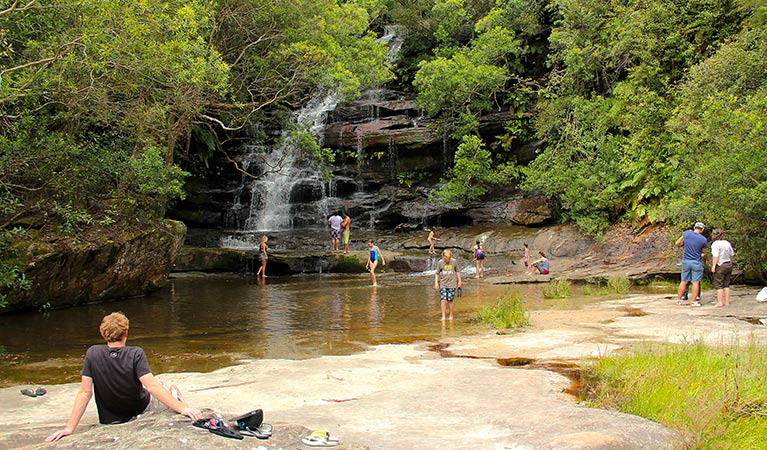 Somersby Falls picnic area - ACT Tourism