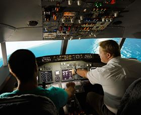Jet Flight Simulator Sydney - ACT Tourism