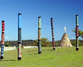 Maclean Tartan Power Poles - ACT Tourism