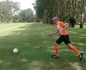 FootGolf at Teven Valley Golf Course - ACT Tourism