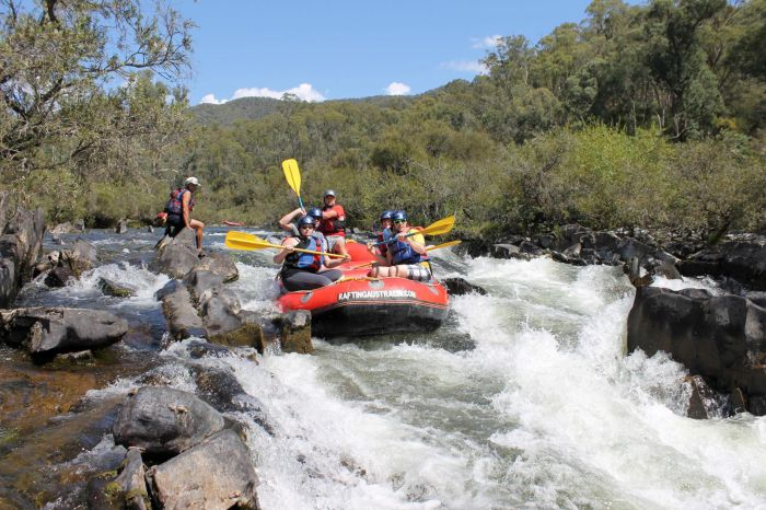 Rafting Australia - ACT Tourism