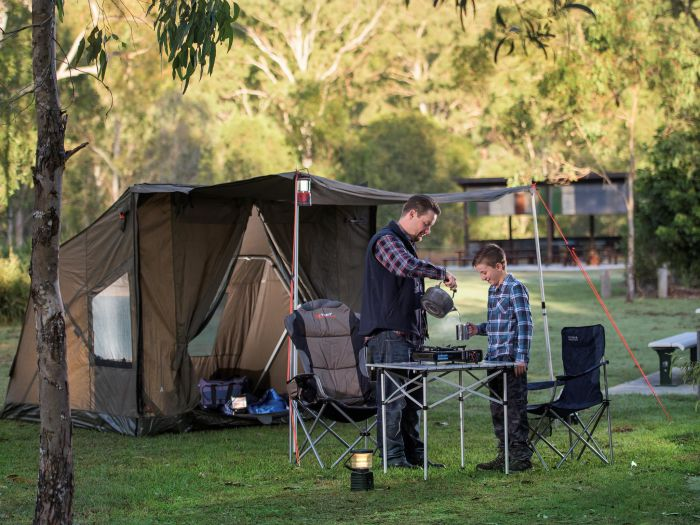 Hardings Paddock Campground - ACT Tourism
