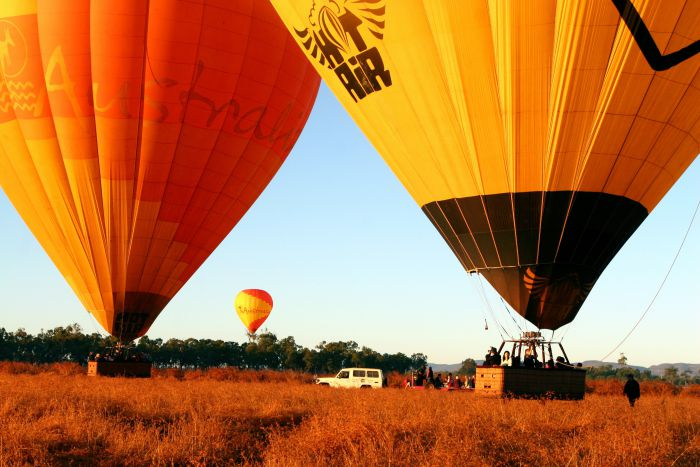 Hot Air Balloon Scenic Rim - ACT Tourism