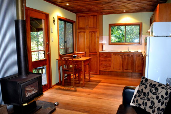Waterfall Hideout-Rainforest Cabin for Couples - ACT Tourism